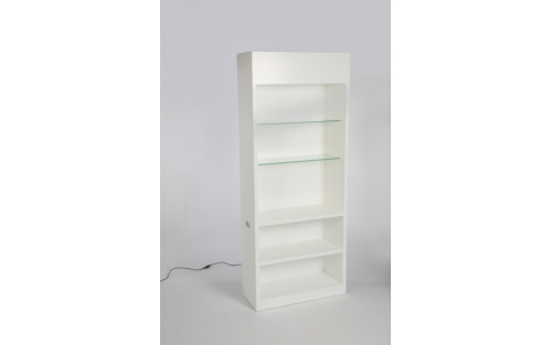 Lounge White: Backbar