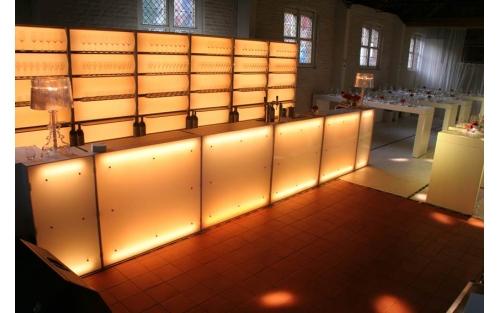 Bright Bar, Lichtgevende bar huren