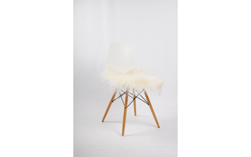 Stoel Eames DSW wit, huur vintage stoelen