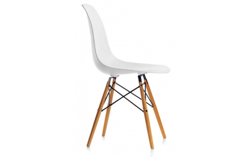 Stoel Eames DSW wit, huur vitra
