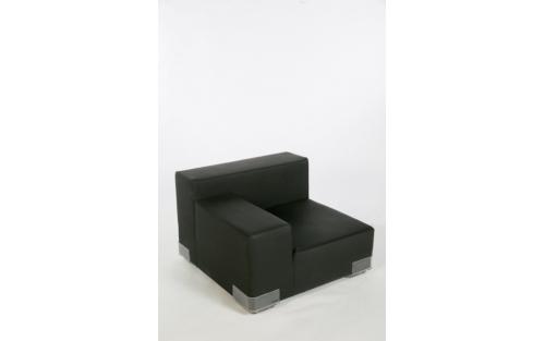 Sofa Plastics links zwart