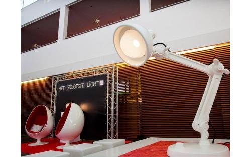 Lampe Lummel blanche