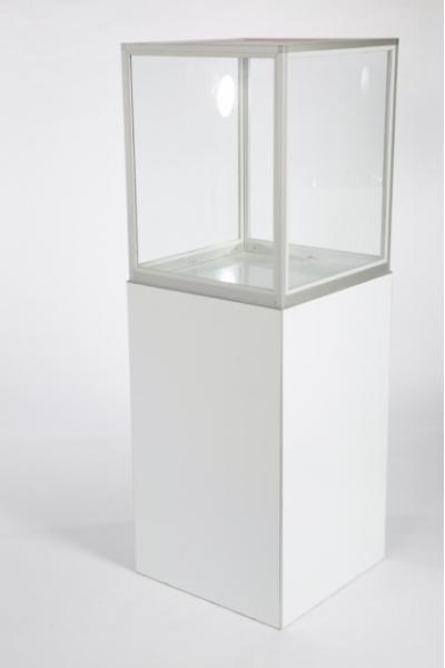 Display Glas voor Zuil Column 60 x 60 x 60 (excl zuil)