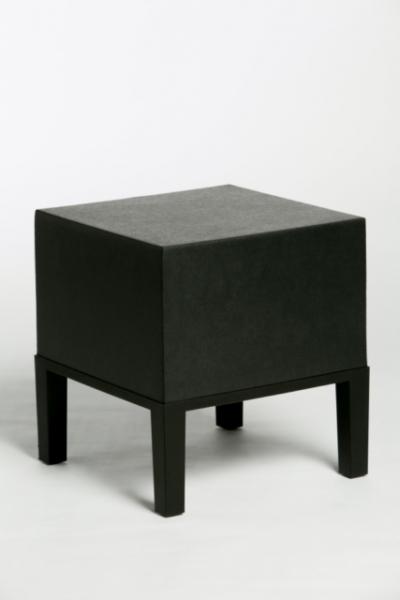Poef primary 01 zwart