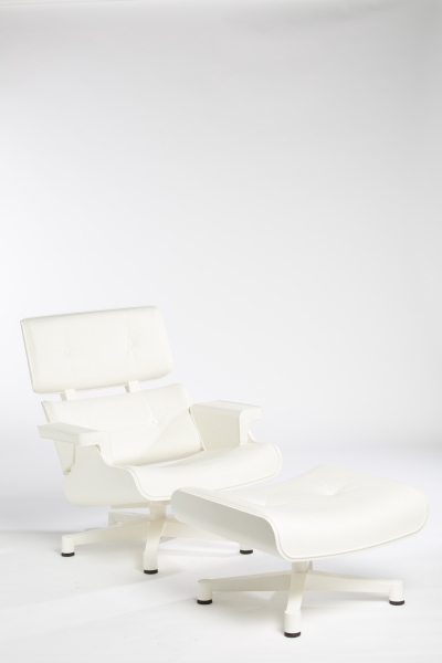 Fauteuil 1956 Loungeset blanc