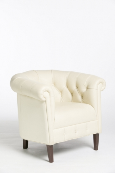 Zetel Chesterfield wit