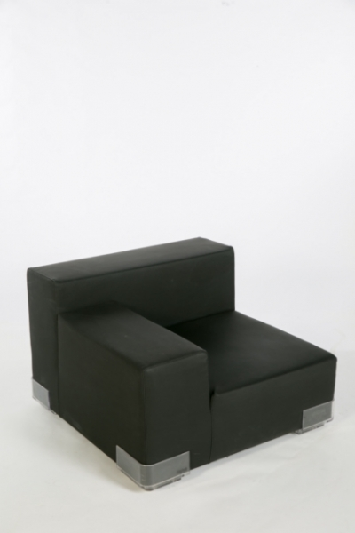 Sofa Plastics links zwart