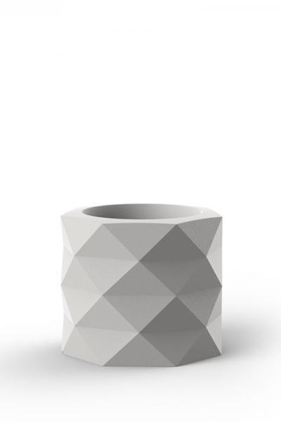 Pot Marquis Low White Glossy 60xH50