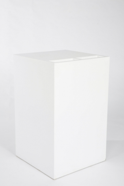 LW: Buffet Cube Couverts blanc