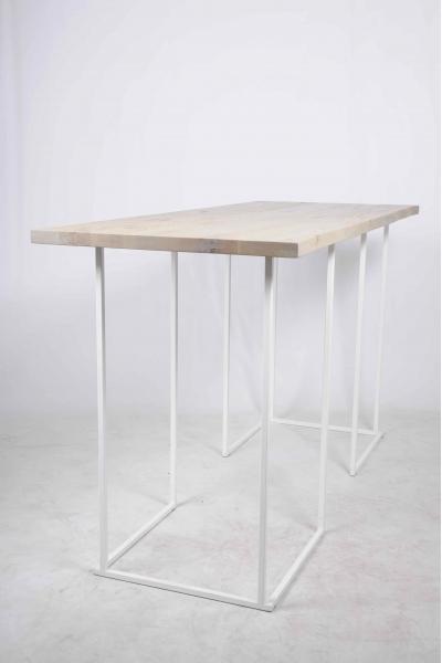 Table d'arbre 300x80x110 Blanche