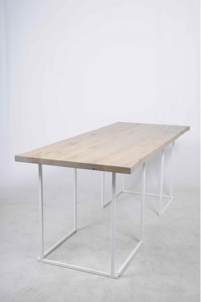 Table d'arbre 300x80x75 Blanche